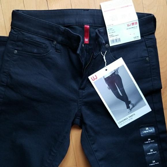 f5a1cc240d Uniqlo Pants | Uj Black Leggings Size 24 Women Girls | Poshmark
